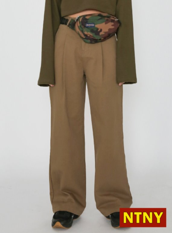 [NTNY-104] MILL PINTUCK PANTS