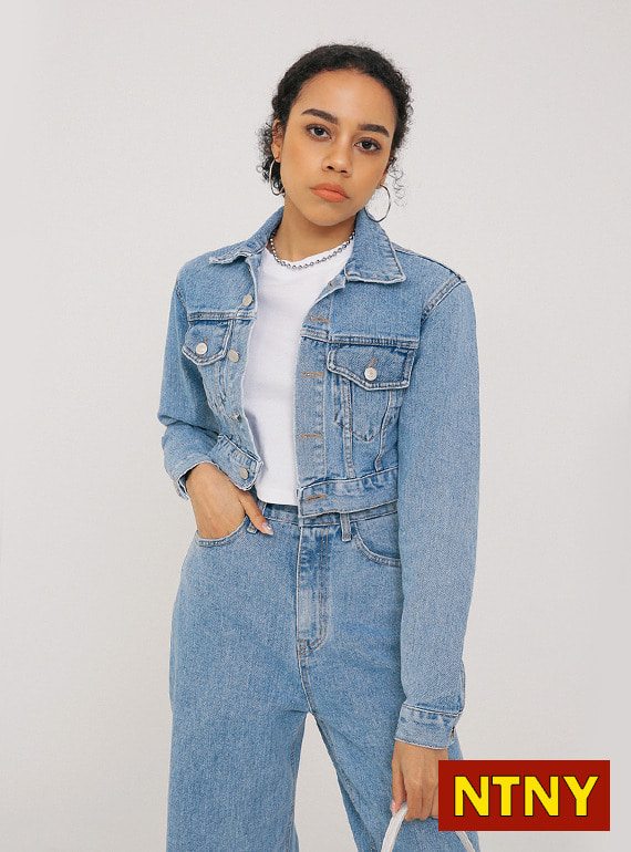 [NTNY-228] HADID DENIM SET - JACKET